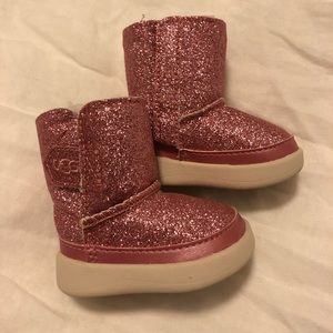 Pink infant Uggs